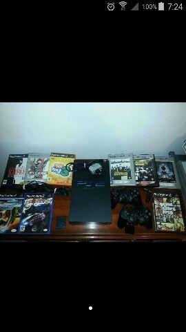 Playstation 2, mandos, juegos