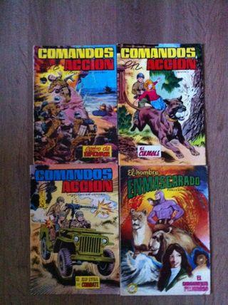 COMICS/TEBEOS VALENCIANA-COMANDOS-R. ALCÁZAR-PUMBY