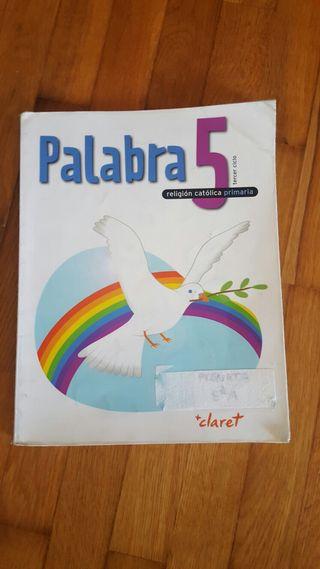 Libro 5 primaria religion