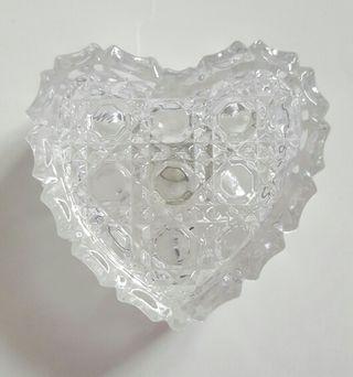 Vintage Lead Crystal Trinklet Box.
