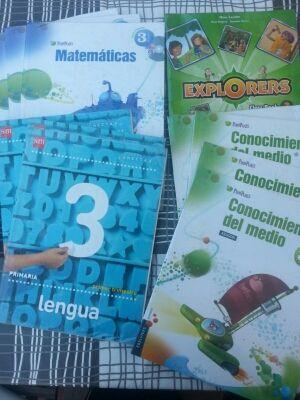 Libros primaria 3°/4°/5° curso