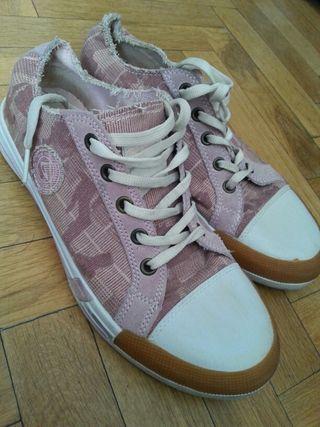 Zapatillas rosas marca beppi talla 38