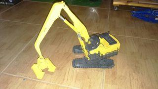 Joal Komatsu Pc1100lc 1/50 con acesoria pinza arena