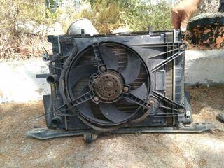 Fiat Bravo/A Marea radiador, condenzador, ventilador