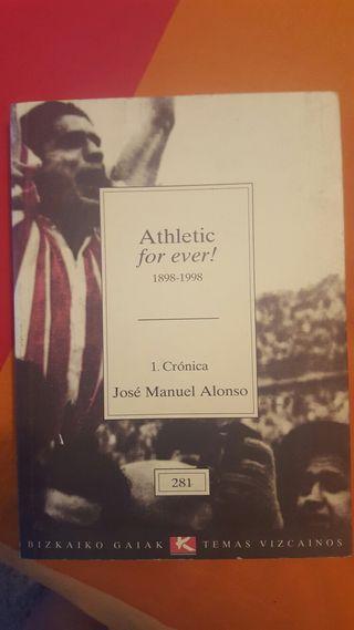 Libro del athletic titulado athletic for ever
