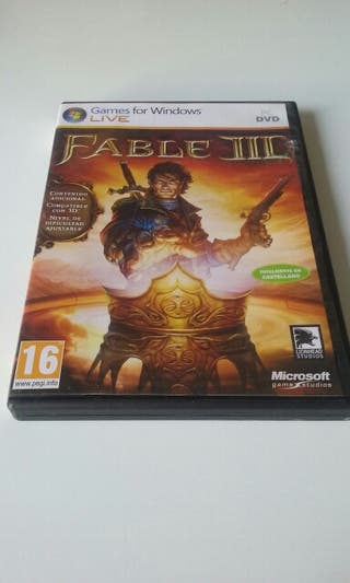 Videojuego Fable III PC