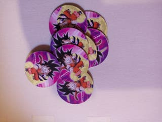 Tazos dragón Ball japoneses
