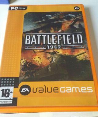 Videojuego Battlefield 1942 PC