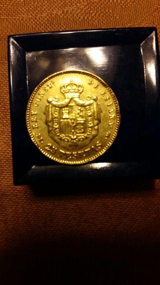 Monedas de oro de colección en la provincia de Barcelona en WALLAPOP e93fd21037c