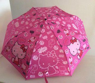 Paraguas plegable Hello Kitty