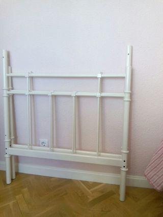Cabeceros Forja Blancos Ikea De Segunda Mano Por 20 En