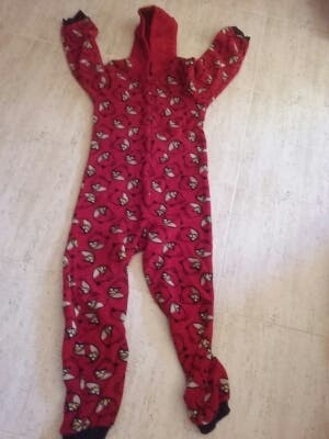 Pijama/mono Angrybirds