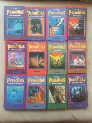 Coleccion 24 PESADILLAS R.L STINE