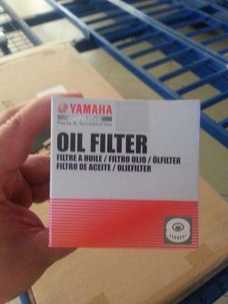 ###REBAJADO### Filtro de aceite original Yamaha.