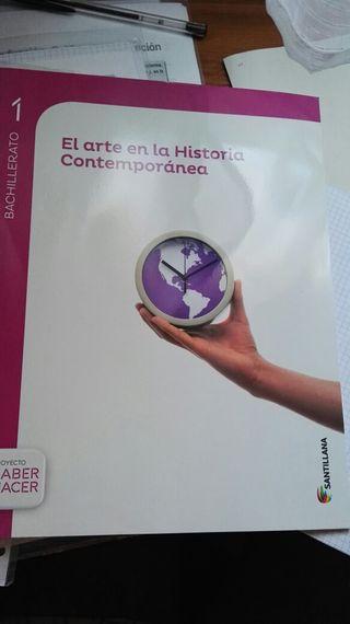 Libro el arte en historia contemporánea 1 bachillerato.