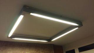 Lluminària fluorescents - luminaria florescentes