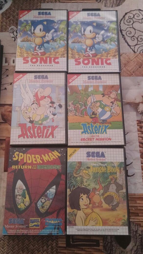 Juegos Sega Master System De Segunda Mano Por 7 75 En Riba Roja De