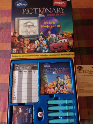 Pictionary Disney Dvd