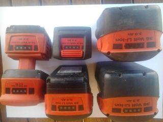 Baterias de litio hilti