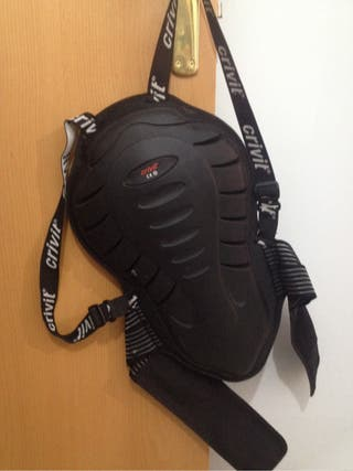 Espaldera Protecion Moto