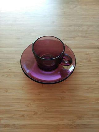 Juego tazas café x6