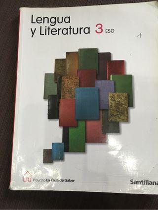 Libro de lengua y literatura 3 ESO