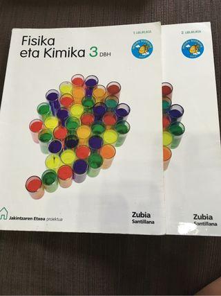 Libro de Fisika eta Kimika 3 ESO