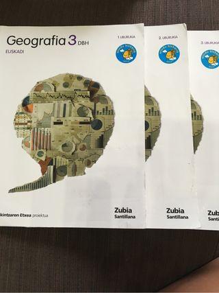 Libros de Geografía 3 ESO