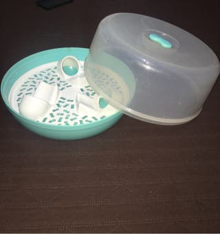 Limpia biberones para microondas