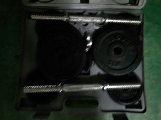 maletin de pesas 20 kilos
