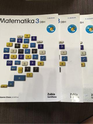 Libros de Matematika 3 ESO