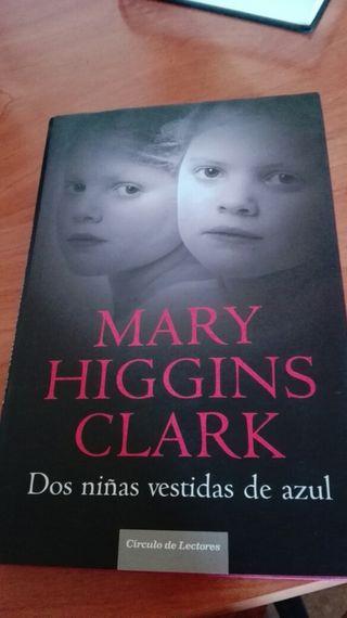 Libro: Dos niñas vestidas de azul