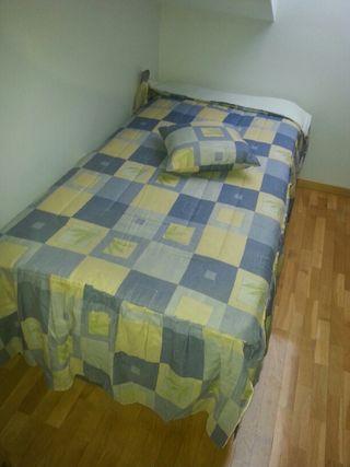 2Edredones + 2 cojines cama 90cm