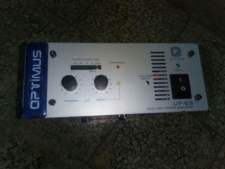 Amplificador megafonia Optimus UP-65