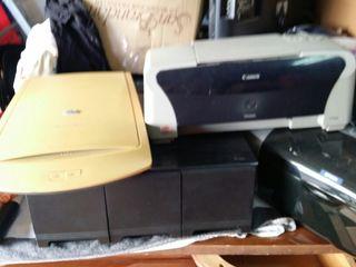 2 impresoras y un rscaner