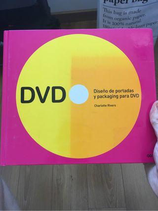 Libro diseño portadas y packaging DVD