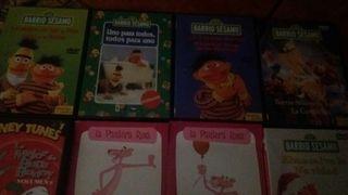 Colección DVDS infantiles más de 10