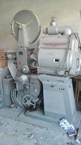 Antiguo proyector de cine
