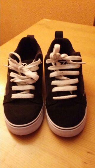 Zapatillas de ruedas heelys 39