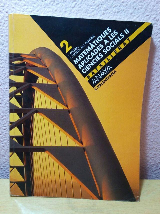 Libro matematicas bachiller