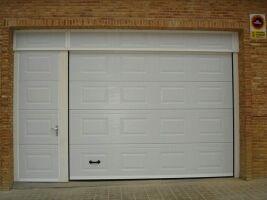 Puertas secciónales y cerrajeria en general