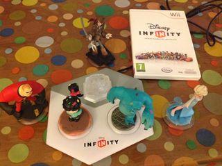 Juego Disney Infinity nuevo Para Wii+ 7 Figuras