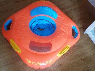 Flotador infantil tipo barca