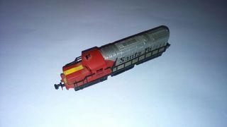 Locomotora para maqueta de tren.