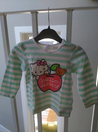 Camiseta manga larga Hello Kitty