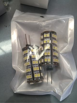 Pack 2 bombillas LED 12v 6w
