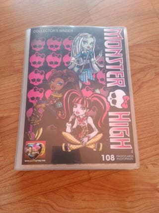 Álbum completo Photocards Monster High