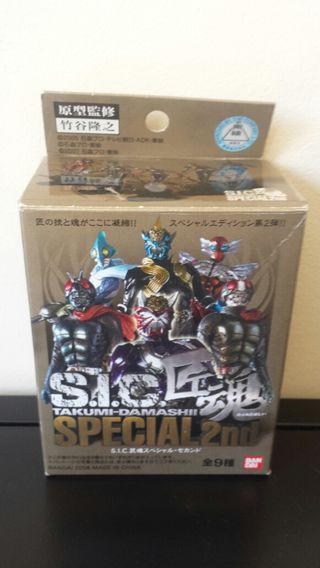 S.I.C. Box cajitas Kamen Raider selladas Takumi Da