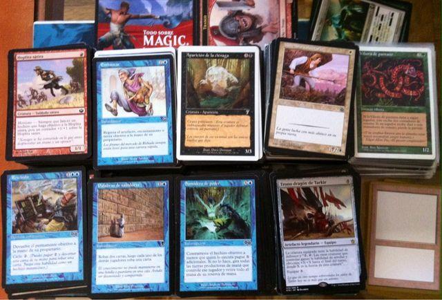 Lote De 900 Cartas Magic / MTG