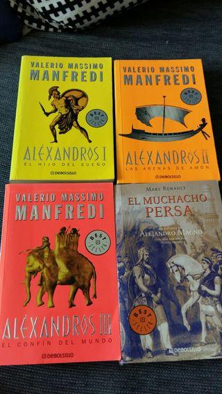 Libros sobre la vida de Alejandro Magno